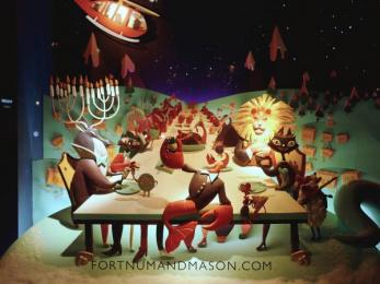 Fortnum & Mason: Christmas Windows, 9 Outdoor Advert by Otherway