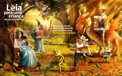 Itau Bank:  Leia para uma criança, 1 Digital Advert by DPZ Sao Paulo