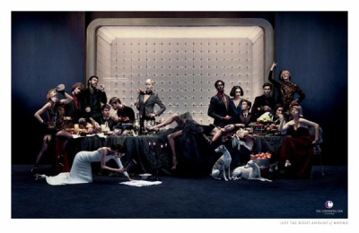 The Cosmopolitan Of Las Vegas: Banquet Print Ad by Fallon Minneapolis