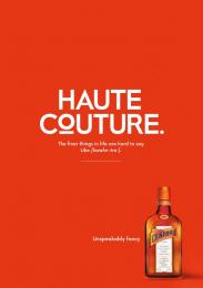 Remy Cointreau: Haute Couture Print Ad by McCann Prague