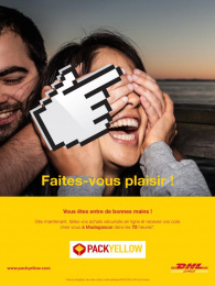 DHL Postal Services: Faites-vous plaisir, 3 Print Ad by bouche a oreille