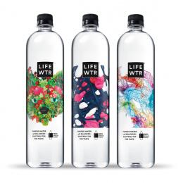 LIFEWTR: LIFEWTR Series 9 Art of Recycling, 2 Print Ad by PepsiCo Design & Innovation