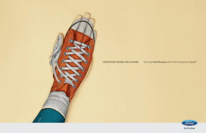 Ford LiftGate technology: Converse Print Ad by Zubi Advertising