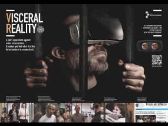 Rede de Justiça Criminal: Visceral Reality [image] Digital Advert by J. Walter Thompson Sao Paulo, Vetor Zero/Lobo