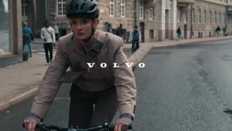 Volvo XC40: The Cyclist Film by Forsman & Bodenfors, Sweden, Mindshare Stockholm, New Land Film, Stockholm, Sweden