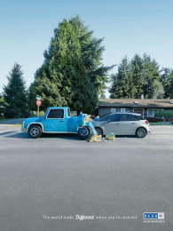 Bcaa: Car Print Ad by DDB Vancouver