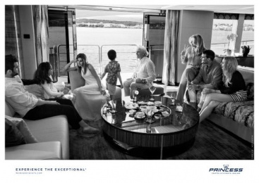 Princess Yachts: Drinks Print Ad by Bsur Amsterdam