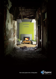 Plasterboards & Gypsum Plasters: GREEN Direct marketing by D'M&S Communications