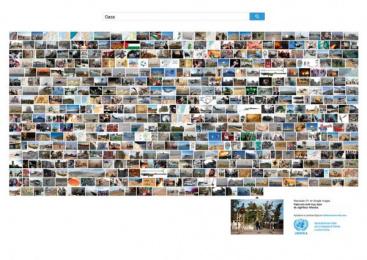 UNWRA: LA FOTO MENOS VISTA - GAZA (spa) Print Ad by J. Walter Thompson Barcelona