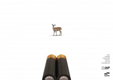 Government of the State of Paraná: Deer Print Ad by Tif Comunicacao Curitiba