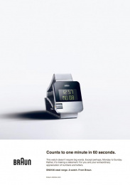 Braun BN0106: Back to the future, 3 Print Ad by BBDO Dusseldorf