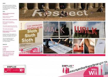 Bioplus Mental Vitality Booster: QUESTION THE ORDINARY Print Ad by DraftFCB Johannesburg