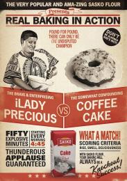 Sasko Flour: Goodness Campaign, 2 Print Ad by Saatchi & Saatchi BrandsRock Cape Town