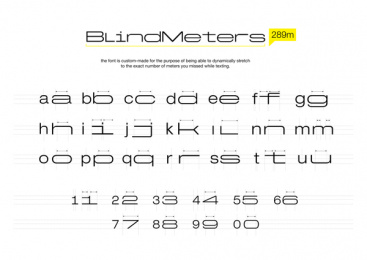 Ovk/parents Of Child Road Victims: BlindMeters Print Ad by Bliss Interactive, FCB Happiness Brussels