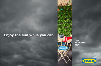 IKEA: Don't Miss the Summer, 3 Outdoor Advert by DDB Brussels