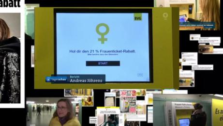 Bvg Berliner Verkehrsbetriebe: Equal Pay Day FrauenTicket Machine Film by MediaMonks