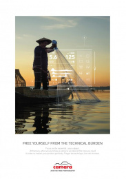 Camara: The Fisherman Print Ad by Change Paris