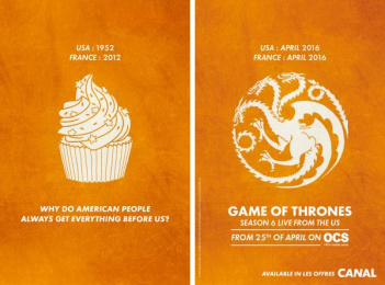 Game Of Thrones: Cupcake Print Ad by BETC