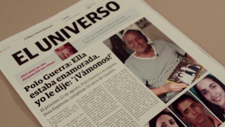 El Universo Newspaper: My Own Story Film by DDB Ecuador