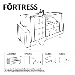 IKEA: Forts at Home - Fortress Digital Advert by Instinct Moscow