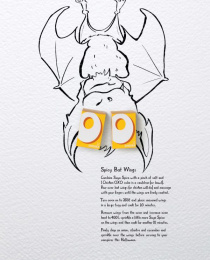 Oxo: Spicy bat wings Print Ad by J. Walter Thompson London, RM2