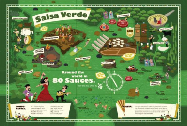 WMF Kitchen Knives: Salsa Verde Print Ad by KNSK