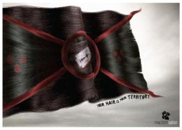 Mac'sim Hair Salon: Emo Print Ad by Propaganda