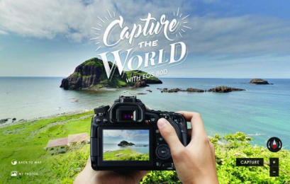 Canon EOS 80D: Capture The World With EOS 80D Digital Advert by Dentsu Singapore