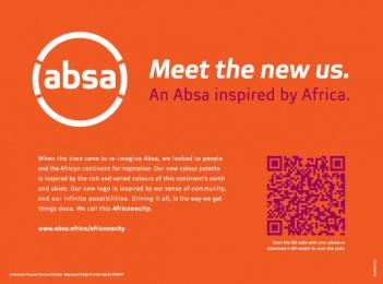 Absa Bank: Daily Sun - Meet The New Us Print Ad by FCB Johannesburg