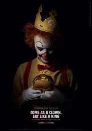 Burger King: Scary Clown Night, 5 Print Ad by Lola Madrid