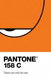 Pantone: 158C Print Ad by Y&R Shanghai