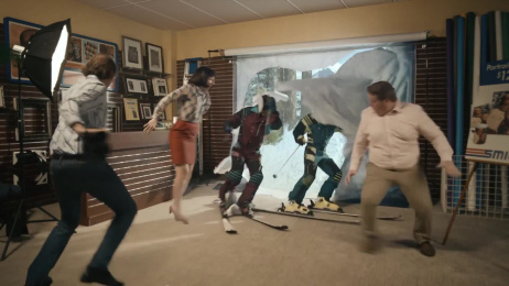 Geico: Smile And Say Skis [15 sec] Film by The Martin Agency Richmond