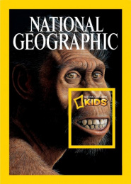 National Geographic Kids: Neandertal Print Ad by Rafineri