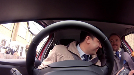 Renault Clio: VA VA VOOM! button, Guys Ambient Advert