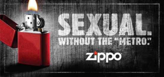 Zippo Pocket Lighter: SEXUAL Print Ad by Brunner Pittsburgh