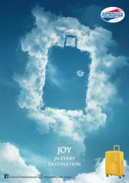 American Tourister: Joy in Every Destination, 3 Print Ad by FCB Kuwait