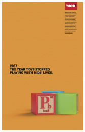 Which?: Toys Print Ad by Grey London