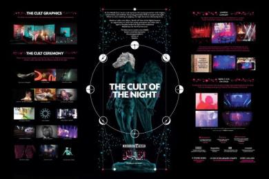 MASHROU' LEILA: THE CULT OF THE NIGHT Digital Advert by H&C Leo Burnett Beirut