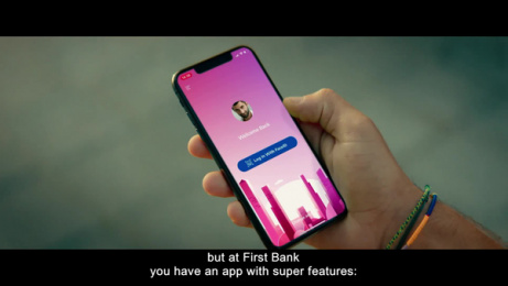 First Bank: The first to make a difference Film by Cheil Romania, Multimedia Est