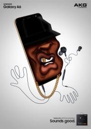 Samsung: Tupac Print Ad by Cheil Kazakhstan