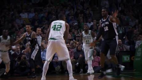 Celtics: Horford Spin and Slam Film by Sleek Machine Boston