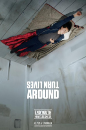 End Youth Homelessness: Turn Lives Around, 1 Outdoor Advert by WCRS