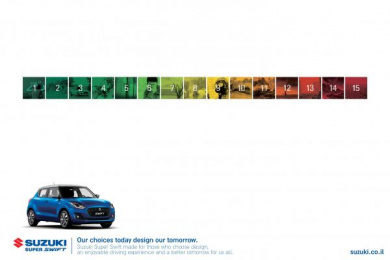 Suzuki: Choices Print Ad by FCB Tel-Aviv
