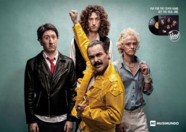 Musimundo: King Print Ad by Y&R Buenos Aires
