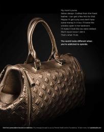 Premier Health: Opioid Fashion, 3 Print Ad by Devito/Verdi