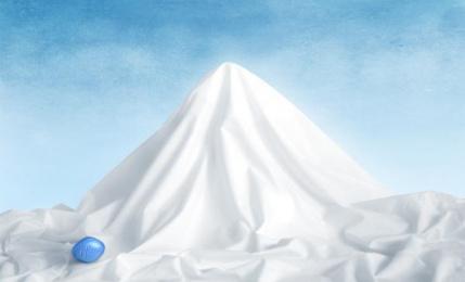 Viagra: Mountain, 3 Print Ad by DDB Cairo