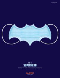 Quick Fox Design: Superhero, 3 Digital Advert by Quick Fox Design