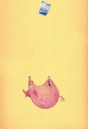 Reach Dental Floss: PIG Print Ad by J. Walter Thompson Sao Paulo