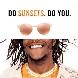 Ray-ban: Sunsets Print Ad by RXM Creative New York