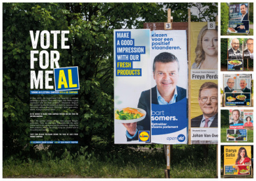 Lidl: vote for meAL, 7 Outdoor Advert by BBDO Brussels